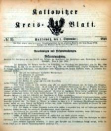 Kattowitzer Kreisblatt, 1893, nr35