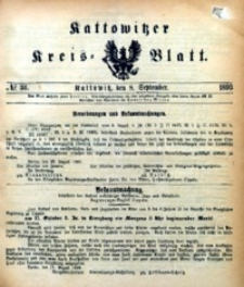 Kattowitzer Kreisblatt, 1893, nr36