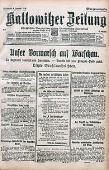 Kattowitzer Zeitung, 1915, Jg. 47, nr4