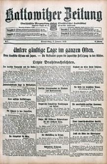 Kattowitzer Zeitung, 1915, Jg. 47, nr5