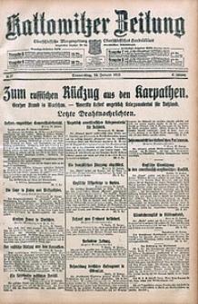 Kattowitzer Zeitung, 1915, Jg. 47, nr12