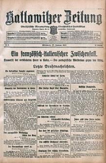 Kattowitzer Zeitung, 1915, Jg. 47, nr25