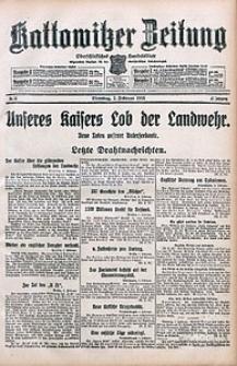 Kattowitzer Zeitung, 1915, Jg. 47, nr31