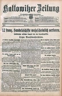 Kattowitzer Zeitung, 1915, Jg. 47, nr35