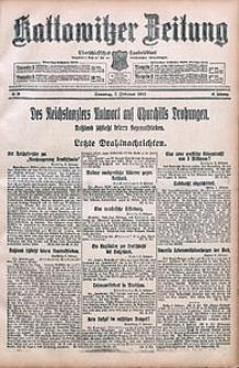 Kattowitzer Zeitung, 1915, Jg. 47, nr36
