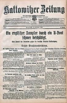 Kattowitzer Zeitung, 1915, Jg. 47, nr42