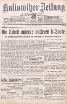 Kattowitzer Zeitung, 1915, Jg. 47, nr52