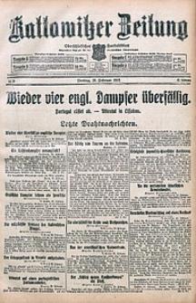 Kattowitzer Zeitung, 1915, Jg. 47, nr55