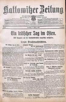 Kattowitzer Zeitung, 1915, Jg. 47, nr62