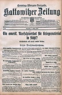 Kattowitzer Zeitung, 1915, Jg. 47, nr65