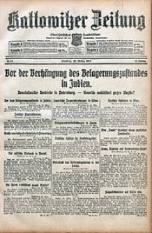 Kattowitzer Zeitung, 1915, Jg. 47, nr83