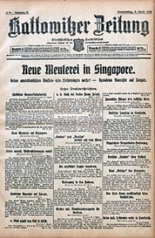 Kattowitzer Zeitung, 1915, Jg. 47, nr94