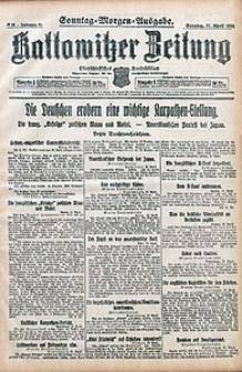 Kattowitzer Zeitung, 1915, Jg. 47, nr98