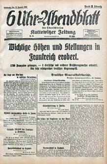 6 Uhr-Abendblatt, 1915, Jg. 47, nr11