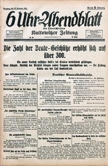 6 Uhr-Abendblatt, 1915, Jg. 47, nr46