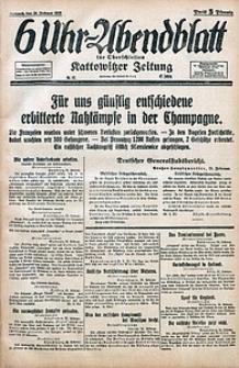 6 Uhr-Abendblatt, 1915, Jg. 47, nr47