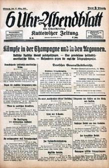 6 Uhr-Abendblatt, 1915, Jg. 47, nr65