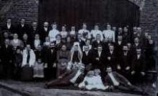 Kołomyja. Fotografia ślubna, lata 30. XX wieku.