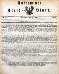 Kattowitzer Kreisblatt, 1883, nr24