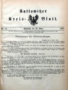 Kattowitzer Kreisblatt, 1901, nr13