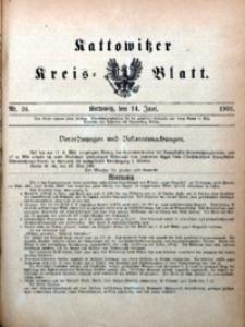 Kattowitzer Kreisblatt, 1901, nr24