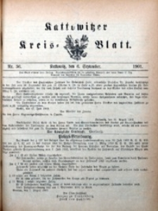 Kattowitzer Kreisblatt, 1901, nr36