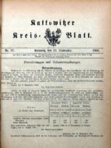 Kattowitzer Kreisblatt, 1901, nr37