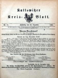 Kattowitzer Kreisblatt, 1901, nr51