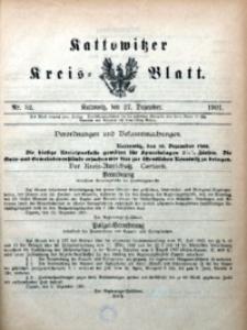 Kattowitzer Kreisblatt, 1901, nr52