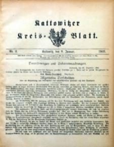 Kattowitzer Kreisblatt, 1903, nr2