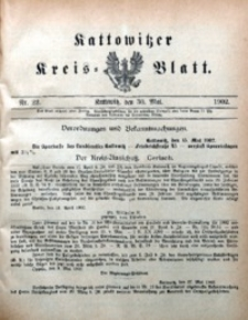 Kattowitzer Kreisblatt, 1902, nr22