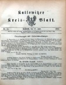 Kattowitzer Kreisblatt, 1902, nr24