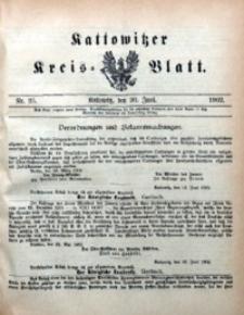 Kattowitzer Kreisblatt, 1902, nr25