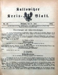 Kattowitzer Kreisblatt, 1902, nr26