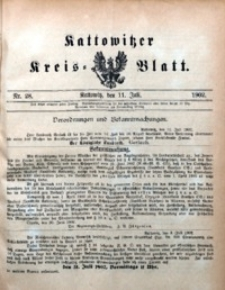 Kattowitzer Kreisblatt, 1902, nr28
