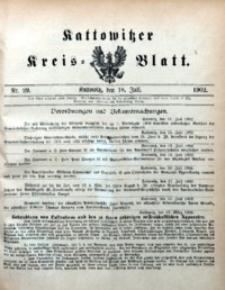 Kattowitzer Kreisblatt, 1902, nr29