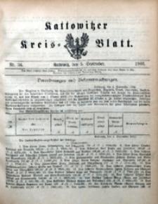 Kattowitzer Kreisblatt, 1902, nr36