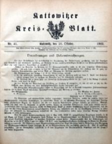 Kattowitzer Kreisblatt, 1902, nr41