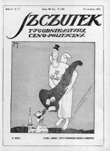 Szczutek, 1919, R. 2, nr 15