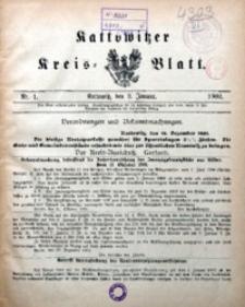 Kattowitzer Kreisblatt, 1902, nr1