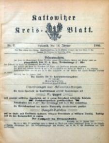 Kattowitzer Kreisblatt, 1906, nr2