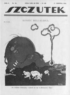 Szczutek, 1919, R. 2, nr 33