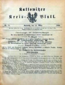 Kattowitzer Kreisblatt, 1906, nr11