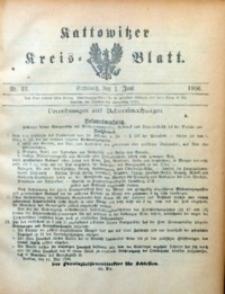 Kattowitzer Kreisblatt, 1906, nr22