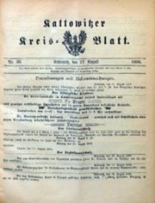 Kattowitzer Kreisblatt, 1906, nr33