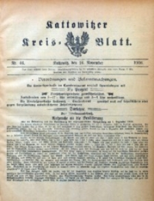 Kattowitzer Kreisblatt, 1906, nr46