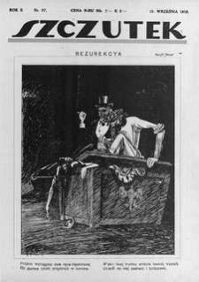 Szczutek, 1919, R. 2, nr 37