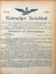 Kattowitzer Kreisblatt, 1907, nr42