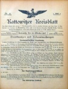 Kattowitzer Kreisblatt, 1907, Nr.43