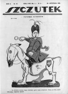 Szczutek, 1919, R. 2, nr 47